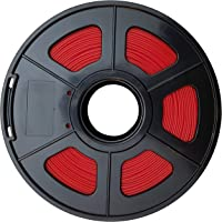 "CC DIY -""ABS"" 1.75mm 3D Printer Filament 1kg Spool Dimensional Accuracy +/- 0.02 mm (Red)"