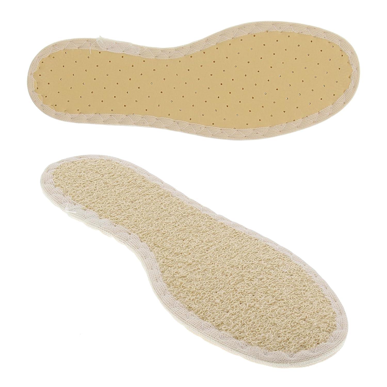 Bama Komfort-Schuh-Einlegesohlen für Kinder, Unisex, Für ein komfortables Barfußgefühl im Sommer, Sun-Color Kids, Beige 31000240001