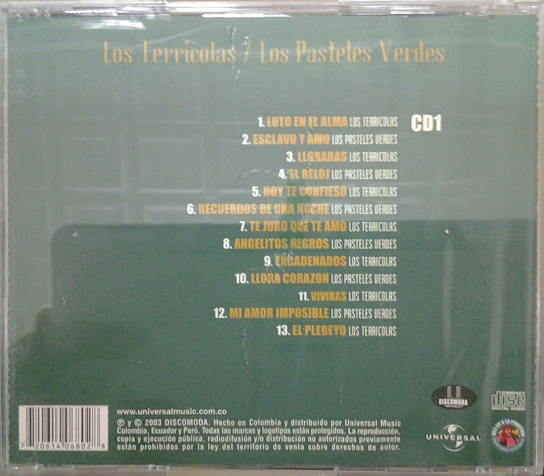 LOS TERRICOLAS, LOS PASTELES VERDES - CD BALADAS LOS TERRICOLAS & LOS PASTELES VERDES - Amazon.com Music