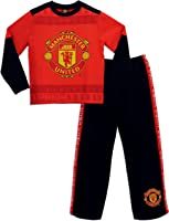 Manchester United Football Club Boys Manchester United Pyjamas Ages 7 to 13 Years