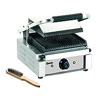 Elektrogrill Bartscher CNS klein silber Electro Grill Balkon ✔ eckig ✔ Grillen mit Elektrogrill ✔ für den Tisch