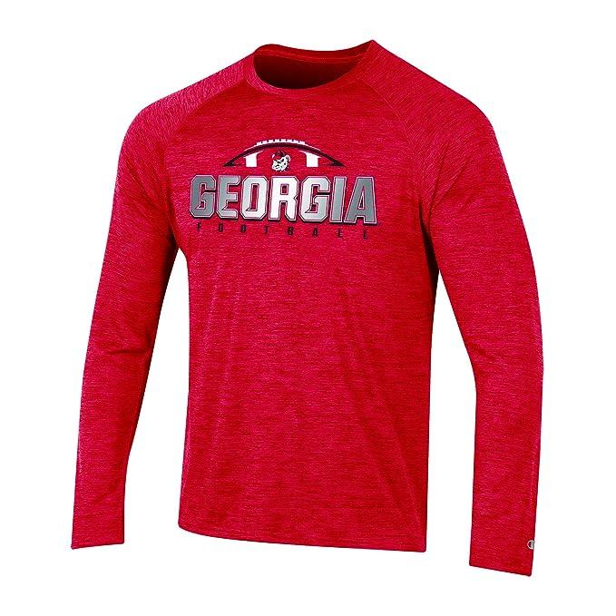 5499f8b59ca5 NCAA Georgia Bulldogs Mens NCAA Men's Long Sleeve Raglan Teechampion NCAA Men's  Long Sleeve Raglan Tee
