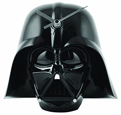 Joy Toy - Star Wars Wall Clock with Sound Darth Vader