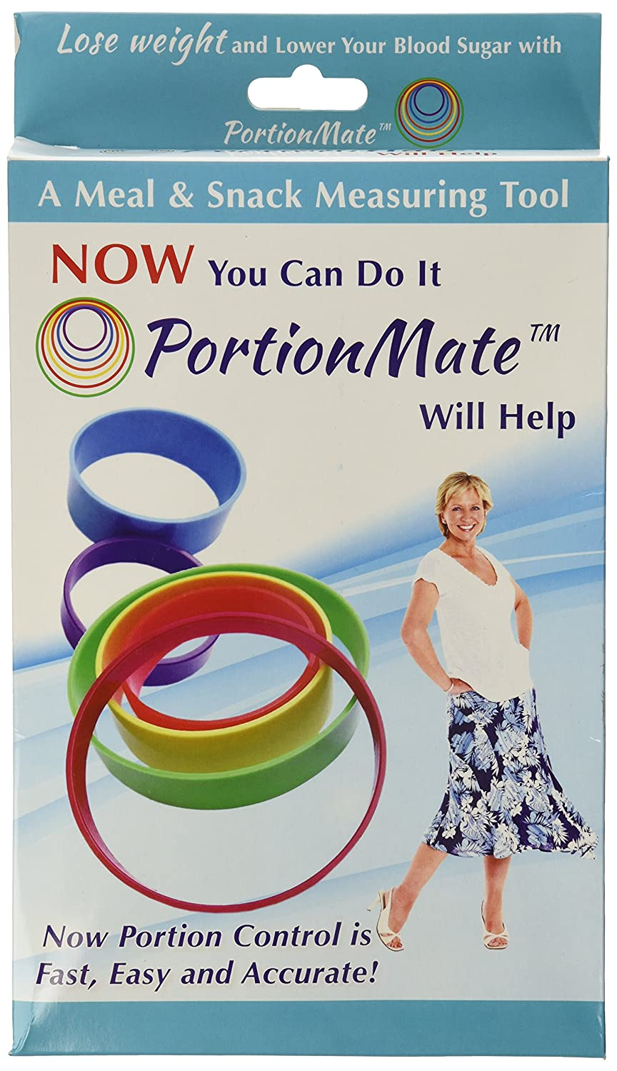 PortionMate Deluxe - Meal Portion Control Rings and Nutrition Tool