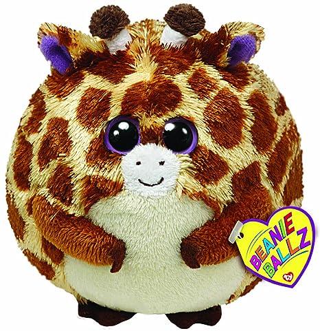 Amazon.com  Ty Beanie Ballz Tippy Plush - Giraffe e452229952ae