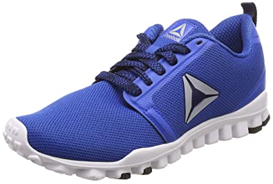 e114c649f5b Reebok Men s Realflex Runner Awesome Blue Coll Navy Running Shoes-10  UK India