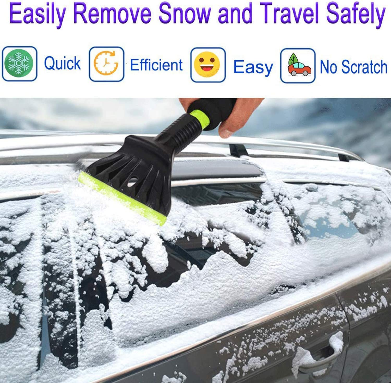 Ice Snow Frost Scraper Windshield Windscreen Scraper Snow Remover Car Glass Snow Shovel Tool Wiper AUERVO Ice Scraper for Cars