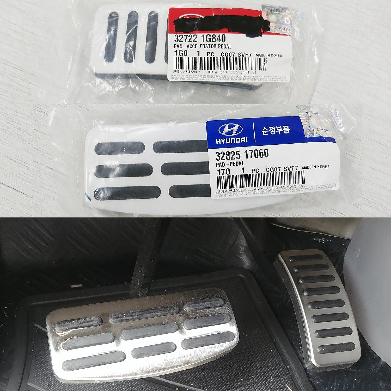 Genuine Auto Brake Accel Alloy Pedal for Hyundai Grand Starex iMax i800 2007 2018
