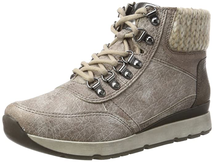 Jenny Cordoba-St, Rangers Boots Femme, Beige (Taupe/Titan,Bronce/Natur), 42 EU