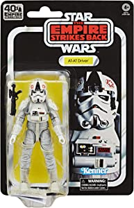 STAR WARS The Black Series at-at Driver 6-inch Scale The Empire Strikes Back 40TH Anniversary Collectible Figure, Ages 4 and Up
