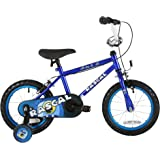 Sonic Rascal kids 14 inch wheel Bike, Blue