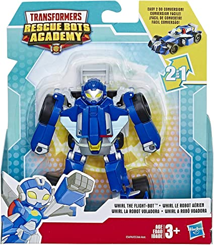 Amazon Com Transformers Rescue Bots Academy Whirl The Flight Bot