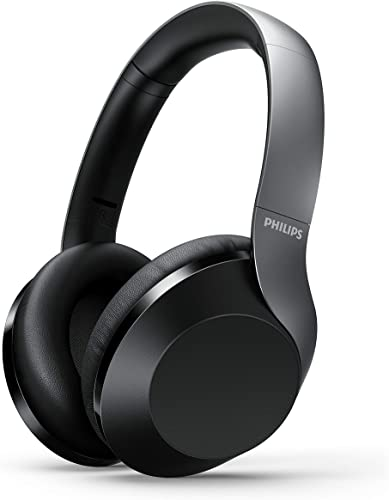 Philips Performance PH805BK Noise Canceling Wireless Headphones with Hi-Res Audio, up to 25 Hours Playtime with ANC