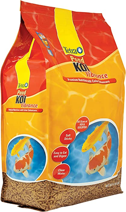 The Best Koi Food 25 Lbs