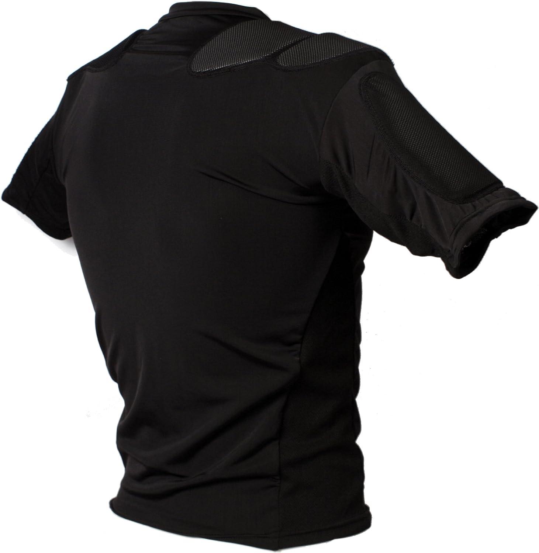 RSP-PRO 5 Rugby shoulder pad pro barnett Black