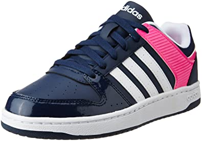 Adidas Hoopster Vs Women's Leather Neo W Sneakers v0ymN8OnwP