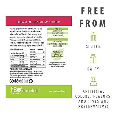 nubeleaf Mango Juice polvo, 1: Amazon.com: Grocery & Gourmet ...
