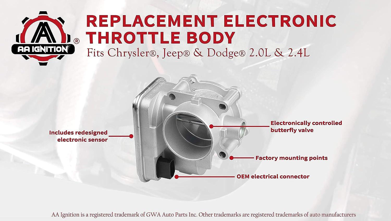 Dodge Avenger Journey Electronic Throttle Body 4891735AC