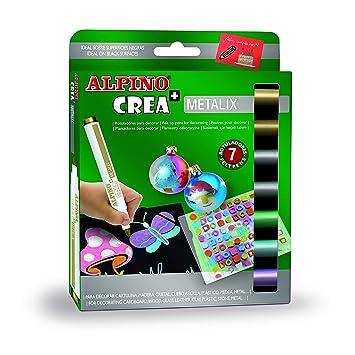 Alpino AR000134 - Estuche 7 rotuladores: Amazon.es: Oficina ...