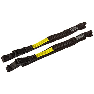 "ROK Straps ROK-10025 Black 18"" - 60"" Motorcycle/ATV Adjustable Stretch Strap: Automotive"