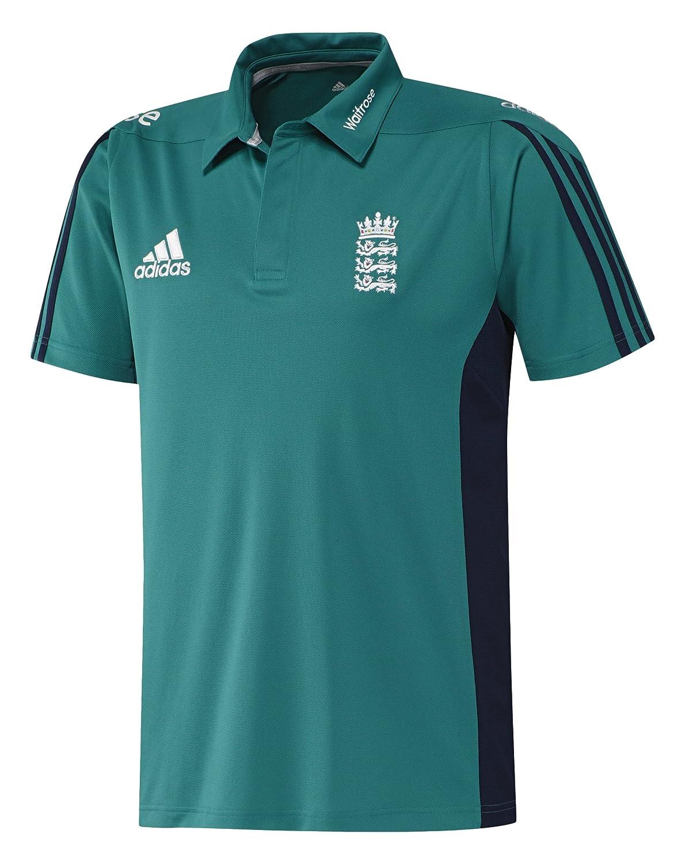 adidas Polo ECB England Cricket Réplica: Amazon.es: Deportes y ...
