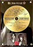B'z 30周年 記念品 盾 ゴールドディスク HINOTORI DINOSAUR