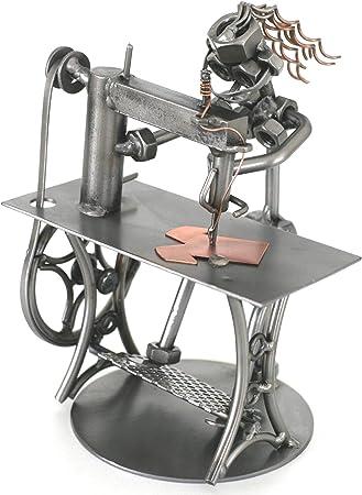 Máquina de coser costurera modista metalman METAL Escultura ...