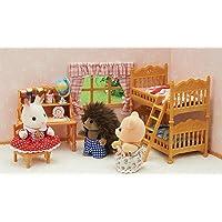 Conjunto Quarto Infantil, Sylvanian Families, Multicor