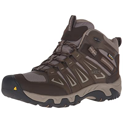 KEEN Men's Oakridge Mid Water Proof Hiking Boot | Hiking Boots