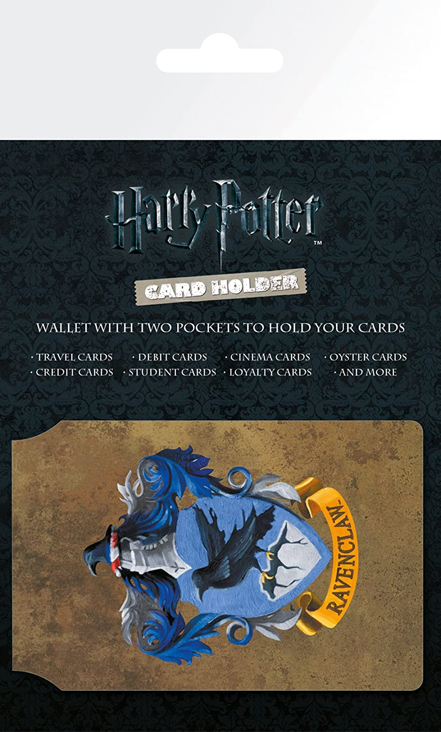 Harry Potter Official Ravenclaw Design Travel Card Wallet Various GB eye CH0083