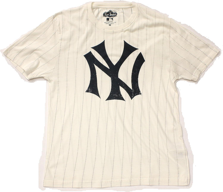 MLB New York Yankees latón camiseta tachuelas estilo Vintage de color rojo chaqueta, Marino: Amazon.es: Deportes y aire libre