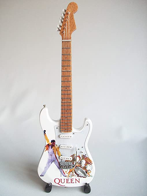 Mini guitarra para coleccionistas réplica de the 80s: Amazon.es ...