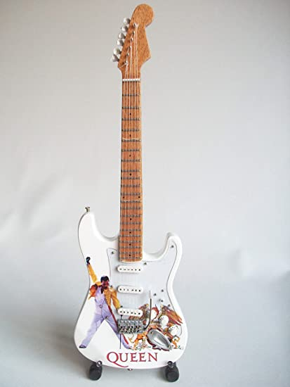 Mini guitarra para coleccionistas réplica de the 80s
