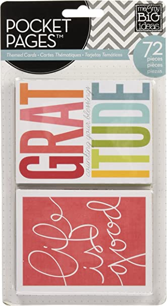 me /& my BIG ideas Pocket Pages Journaling Cards Sports