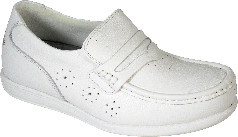 Henselite Ladies Leather Upper Lawn Bowling Sandals Grey