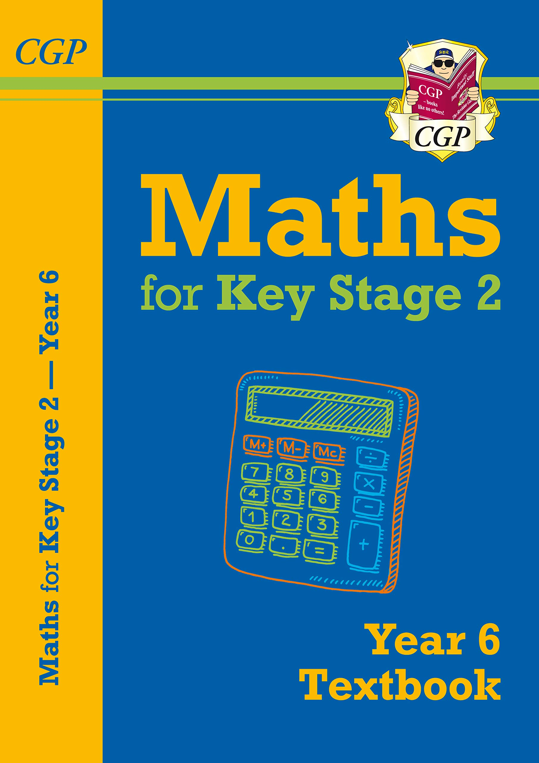New KS2 Maths Textbook - Year 6 (CGP KS2 Maths): Amazon.co.uk: CGP ...