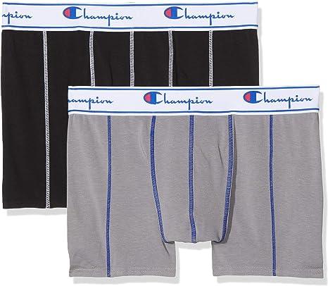 TALLA XL. Champion Coton Bóxer (Pack de 2) para Hombre