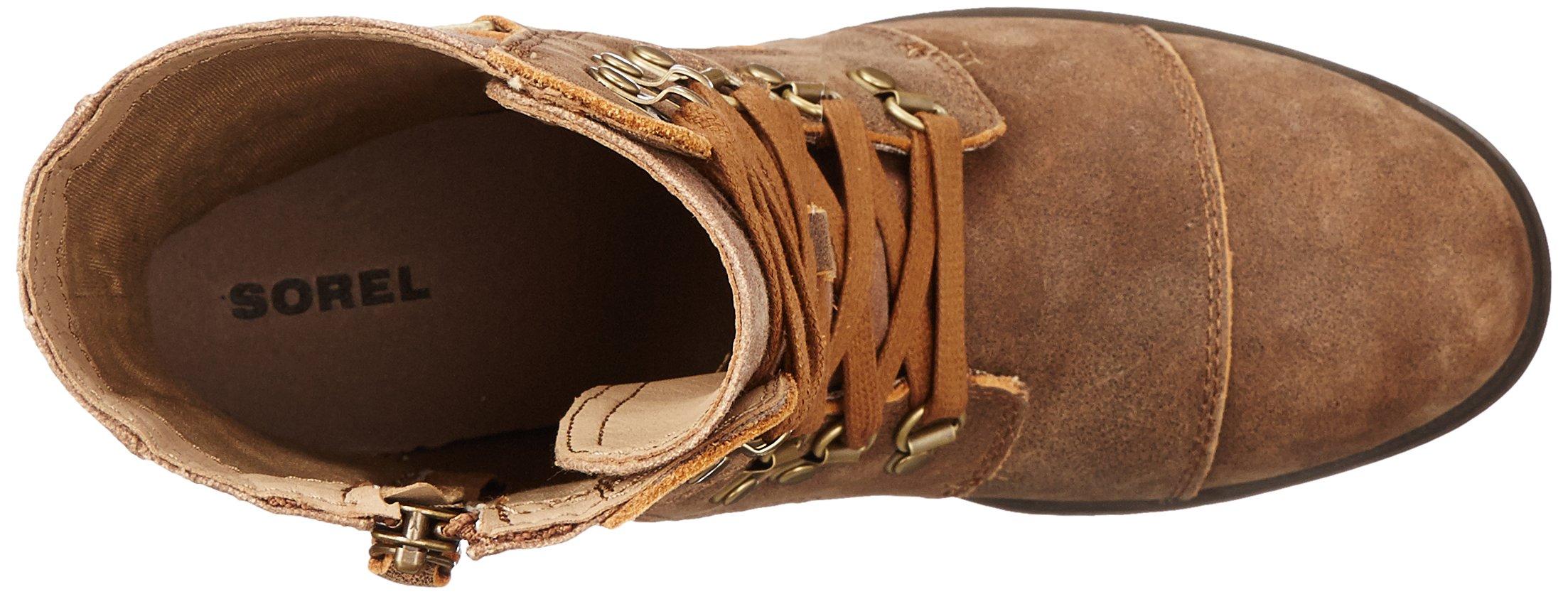 Sorel Women's Major Carly Snow Boot, Nutmeg, Flax, 8 B US by SOREL (Image #8)
