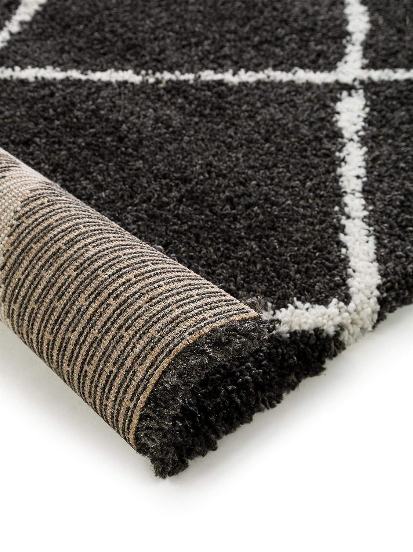 Benuta Hochflor Shaggyteppich Gobi Cream 160x230 cm cm cm - Langflor Teppich für Wohnzimmer B07JDBW4PJ Teppiche fd08b2