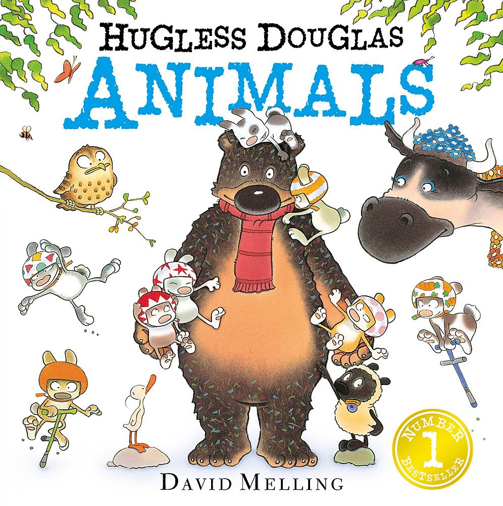 Hugless Douglas Animals Board Book Text fb2 ebook