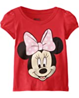 Disney Girls' Minnie Mouse T-Shirt