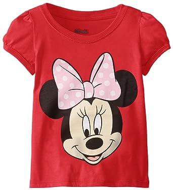 Amazon.com: Disney Girls' Minnie Mouse T-Shirt: Clothing