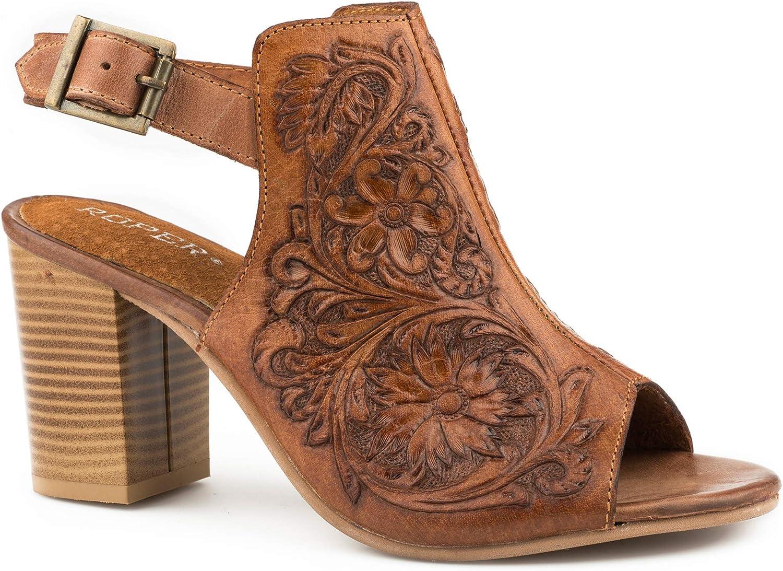 Roper Ladies Mika Tan Shoes 5.5: Amazon.co.uk: Shoes & Bags