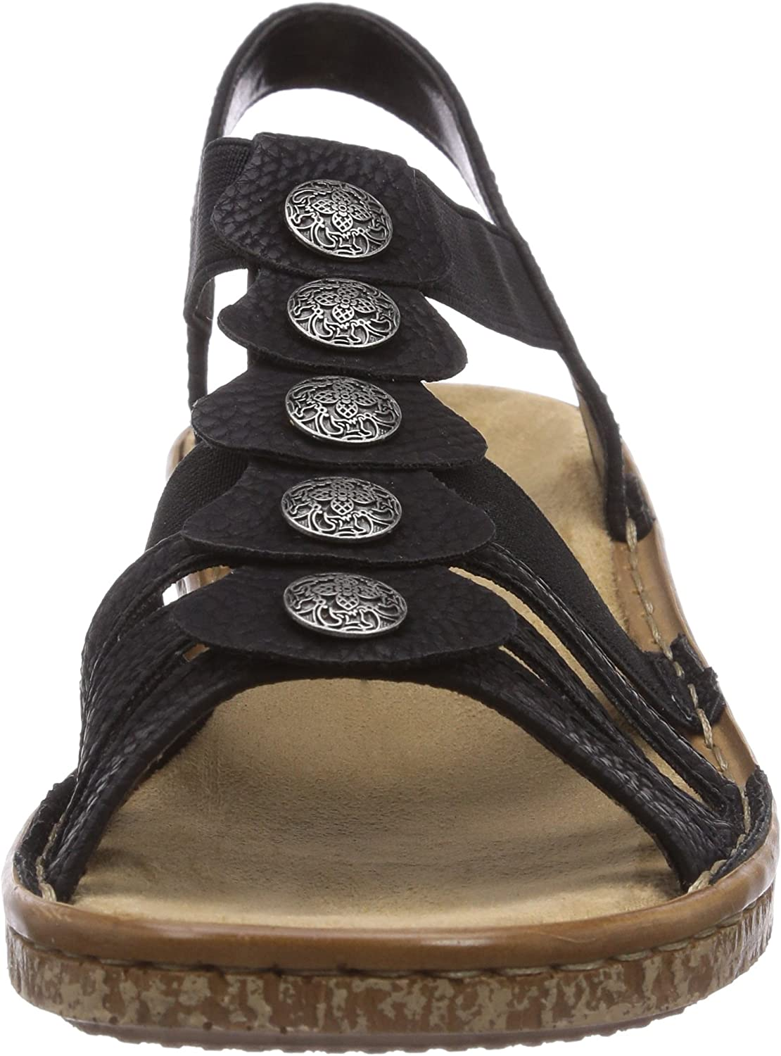 billigt för rabatt gymnastikskor rabattkod Rieker Women Sandals 62866, Ladies Strappy Sandals: Amazon.co.uk ...
