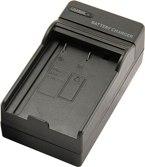 Cargador set para batería nikon d40 d40x d60 d3000 d5000 en-el9 9 enel Charger