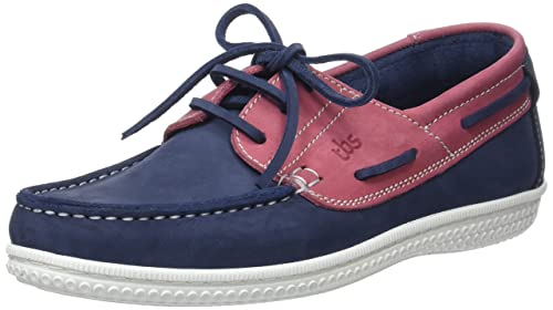 Mens Yolles A8 Boat Shoes, Garnet TBS