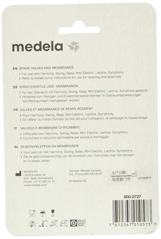 Brustpumpen Ersatzteile-Medela  Ventile /& Membranen Multipack NEU!