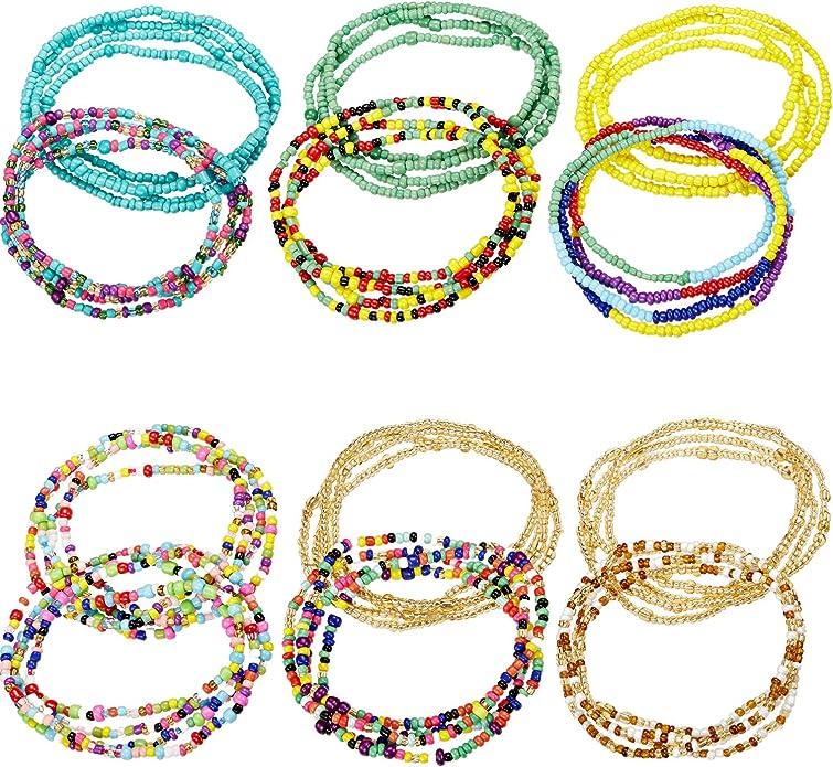 Belly  Chains,Waist accessory Waist chains Waist beads Body jewellery Choco African Waist Beads- African Waist Beads