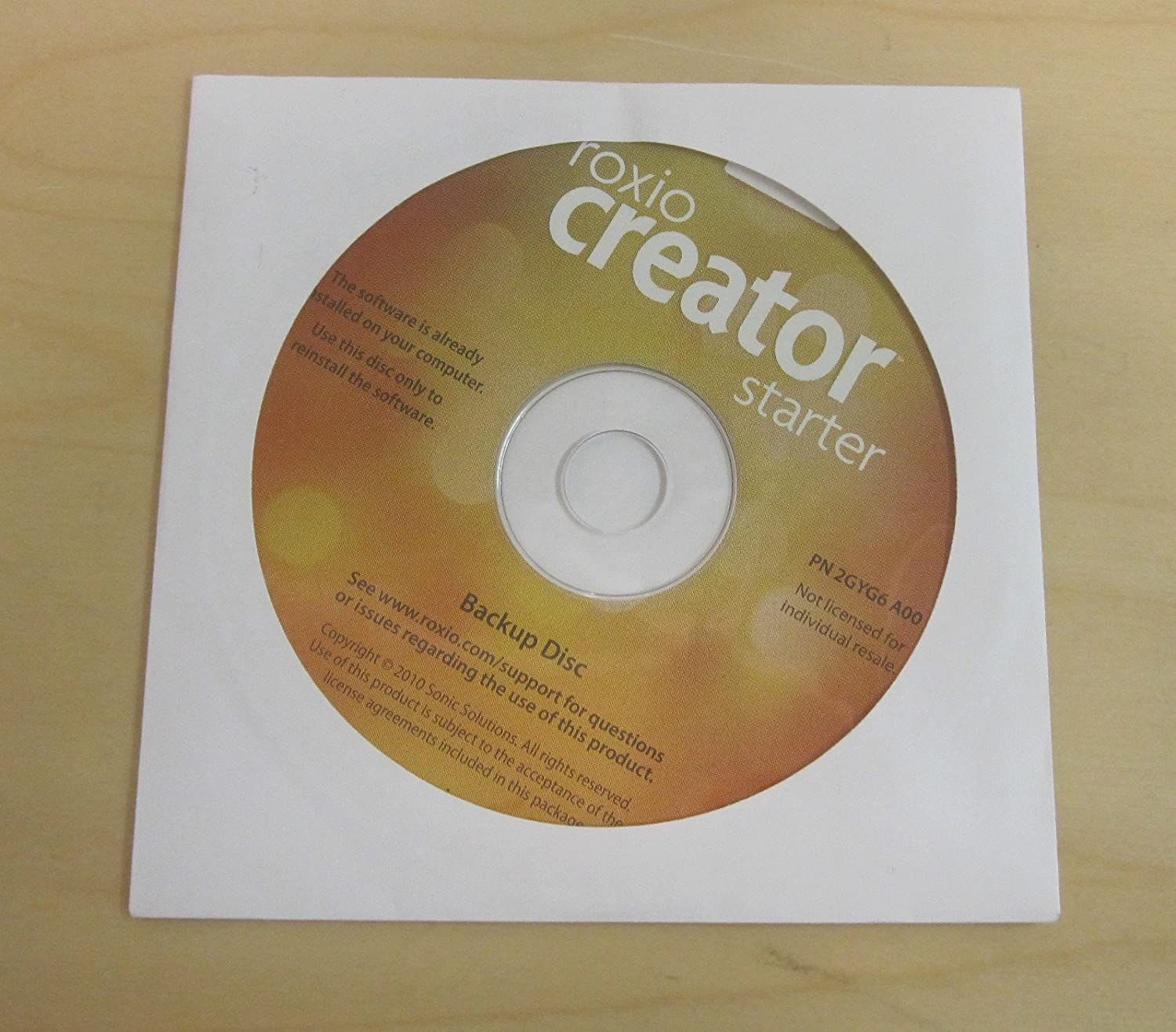 Descargar Roxio Creator Plus Dell Editions