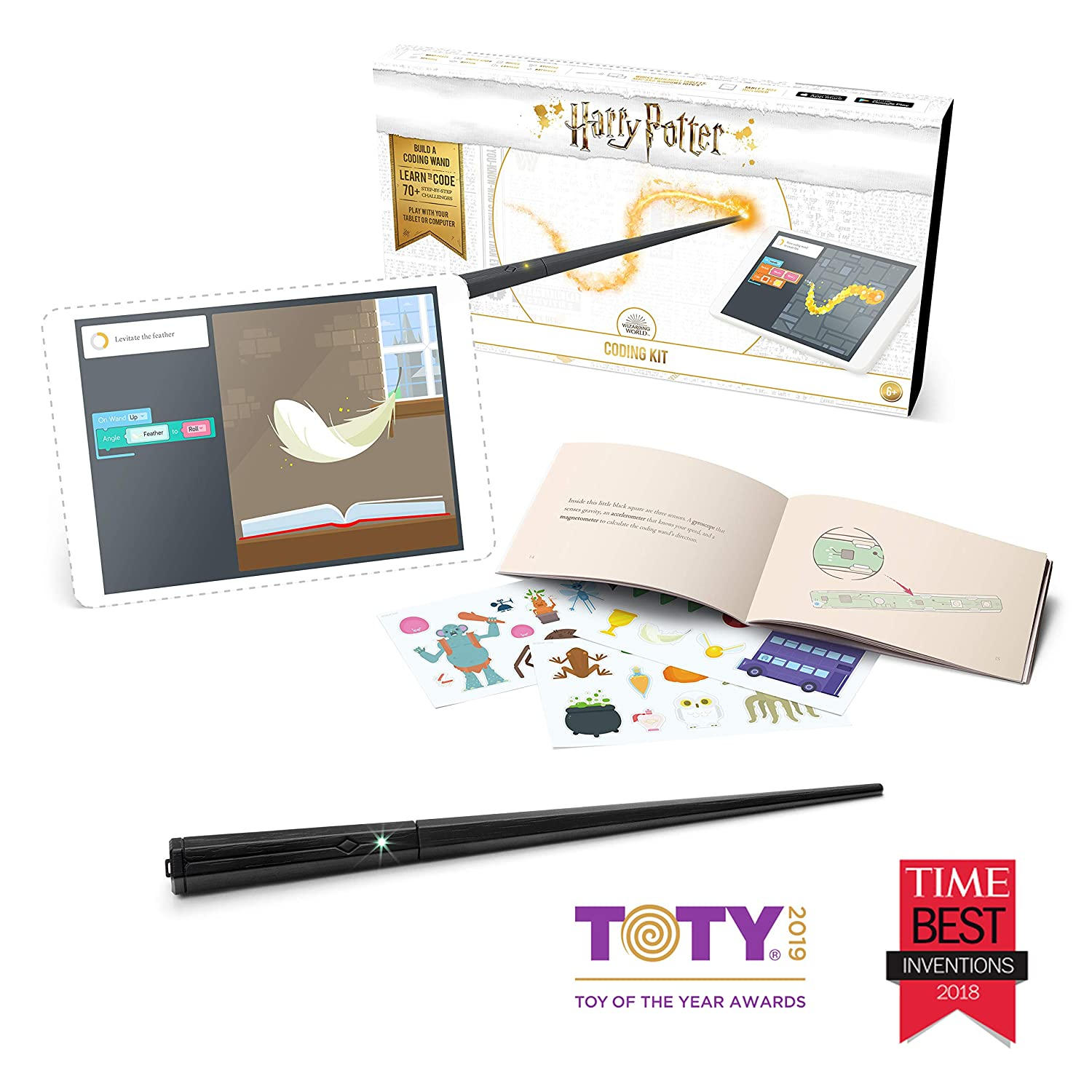 93623fa83 Amazon.com: Kano Harry Potter Coding Kit – Build a Wand. Learn To Code.  Make Magic.: Toys & Games